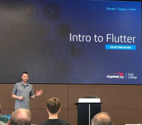 Intro to Flutter @ DCFlutter Meetup